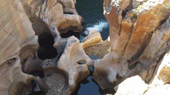 Graskop, Sudáfrica: Bourke's Luck potholes