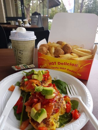 Mundaring, Australia: Hot and delicious cafe food