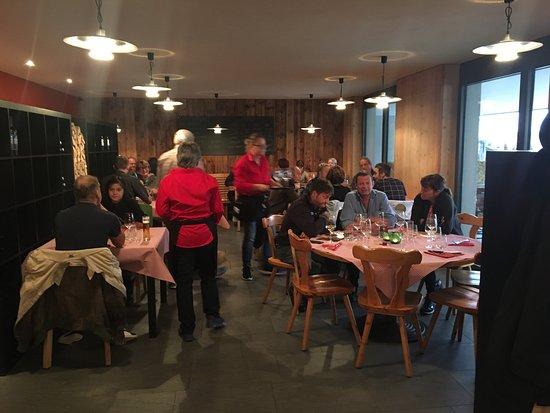 Stoos, Schweiz: zum Pizza Gadä