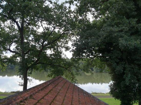 Freren, Alemania: Uitzicht vanuit onze kamer