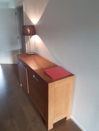 Flumserberg, سويسرا: Wohnzimmer / Essbereich