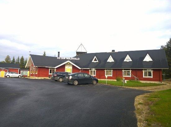 Hotel Hetan Majatalo: Hotellin päärakennus