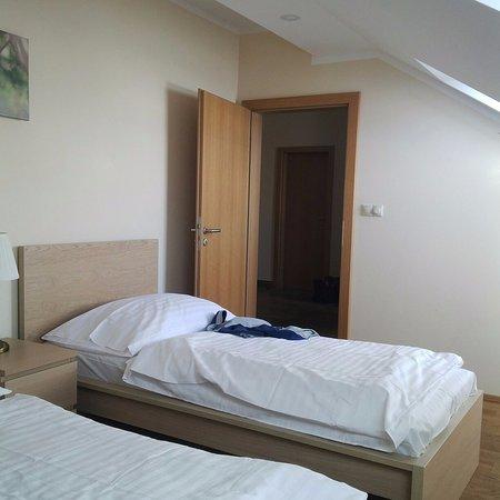 Aparthotel Lublanka: спальная комната