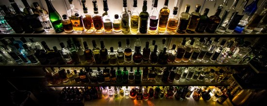 We have the most extensive selection of fine spirits you'll find in perugia... Bar none!