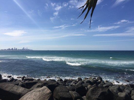 Burleigh Heads, Australia: Richtung Gold Coast