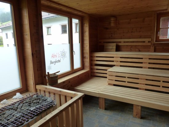 Almi's Berghotel: Panoramasauna mit 75 Grad