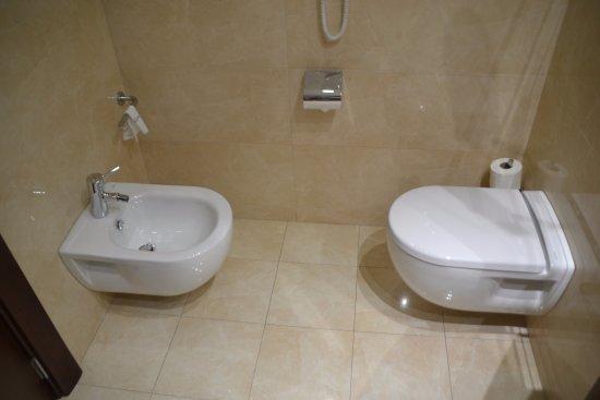 Hotel Gran Ultonia Girona: Zona Wc.
