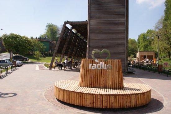 Brine mine in Radlin