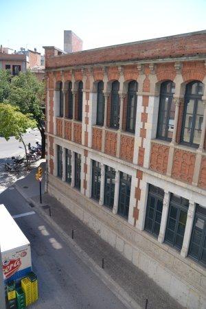 Hotel Gran Ultonia Girona: Vista desde la ventana.