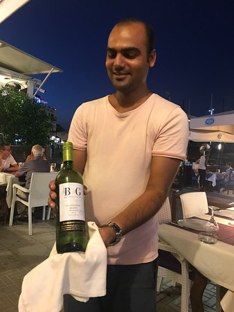 Canli Balik : Nice wine and friendly manager