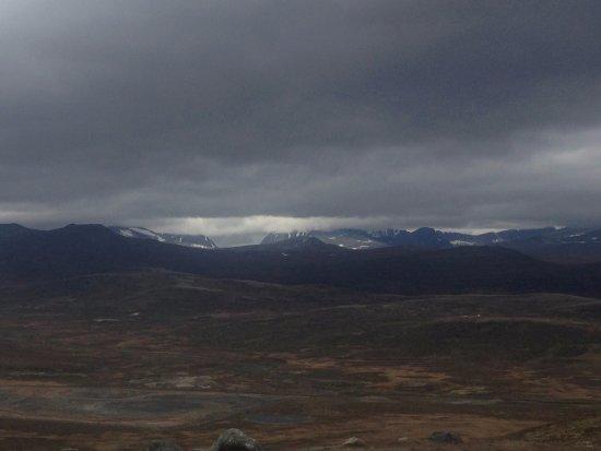 Dovre, Norway: Vistas desde la cima