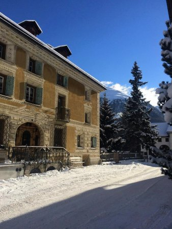Bever, Suiza: Winter time