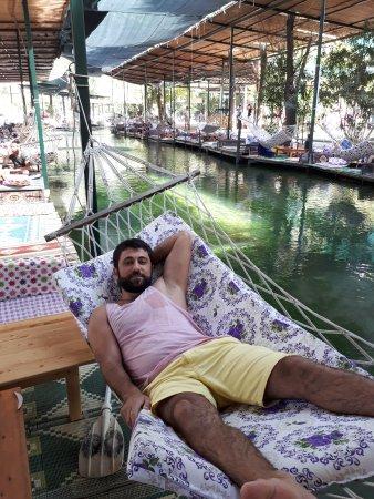Saklikent, Turkey: Çardakları harika