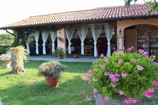 Romans d'Isonzo, Italy: spazio comune in giardino