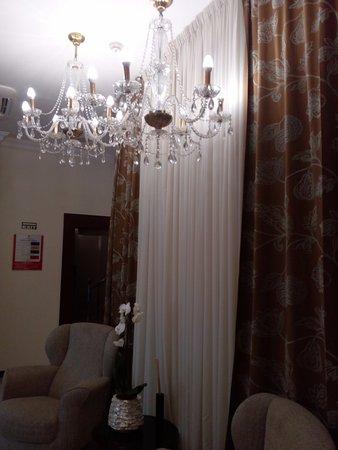 Hotel Globo: hall