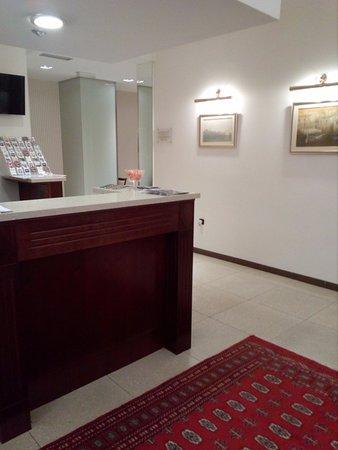 Hotel Globo: reception