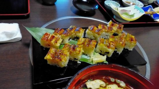 Shikokuchuo, Japão: 穴子の押し寿司