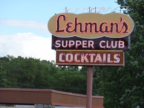 Rice Lake, Висконсин: Main Sign outside Leahman's