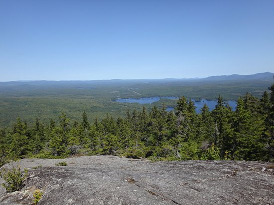 West Forks, ME: Lake Moxie from Mosquito Mountain