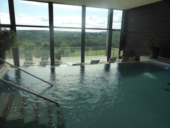 La Gree des Landes: La piscine du spa