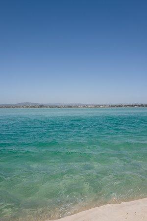 Moncarapacho, Portugal: La plage de Fuzeta