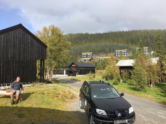 Tinn Municipality, Noruega: Her er mange værelser i forskellige fine hytter.