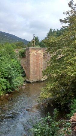 Alet les Bains, France: Vue sur la rivière