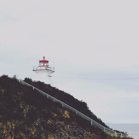 Waterside, Canada: lighthouse