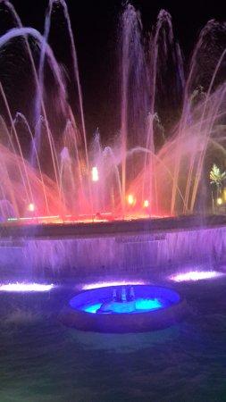 Illuminated Fountain: Just A Coloured Water Fountain