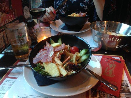 Hengelo, The Netherlands: Salade