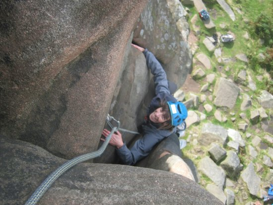 Hope Valley, UK: Day 3 climbing at Stanage