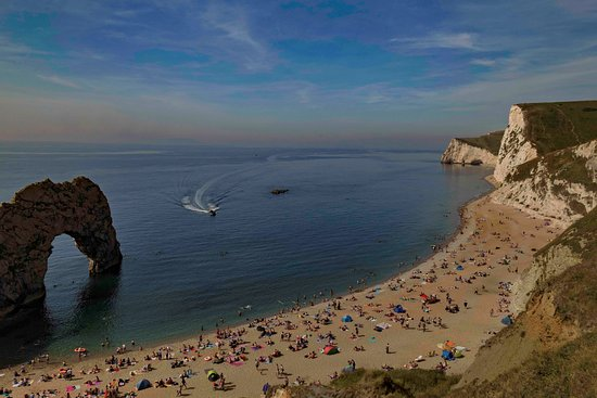 Brunswick Guest House: Durdle Door just 30 min away by car