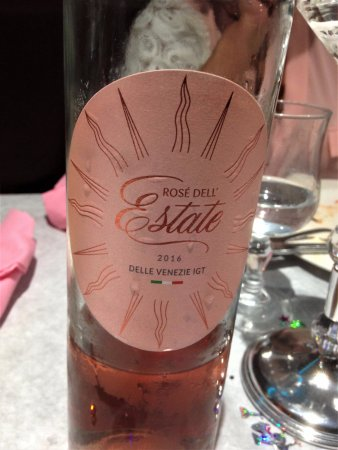 Claye Souilly, ฝรั่งเศส: Rosé italien