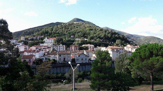 Amelie-les-Bains-Palalda, France: Vue de la chambre