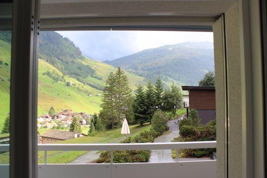 Vals, Schweiz: View towards the valley