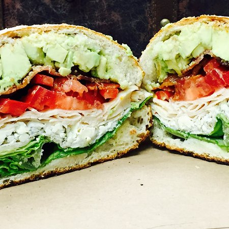 Warminster, PA: Turkey Club on Homemade Bread