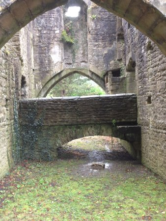 Whalley, UK: Buried undercroft