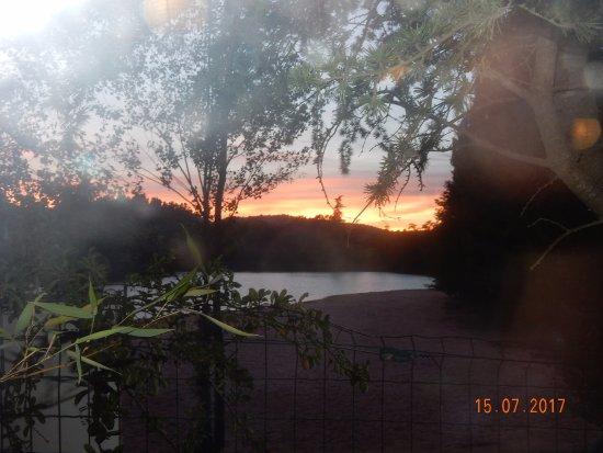 Mormoiron, Frankrike: le coucher de soleil en prime