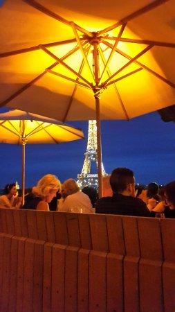 Terrasse La Nuit Picture Of Cafe De L Homme Paris Tripadvisor