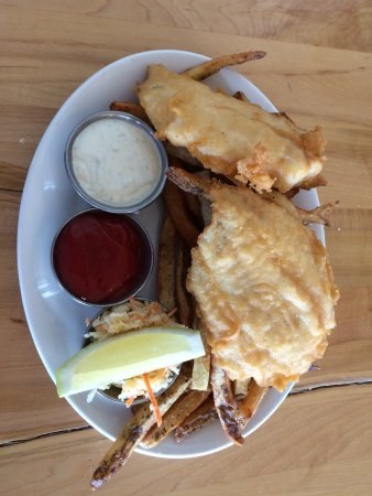 Indian Harbour, Canada: Fish 'n Chips