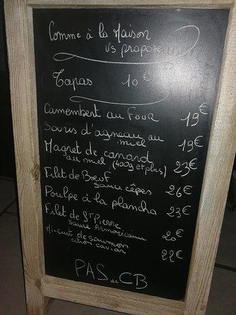 Restaurant comme a la maison dans hyeres avec cuisine for Cuisine 83 hyeres