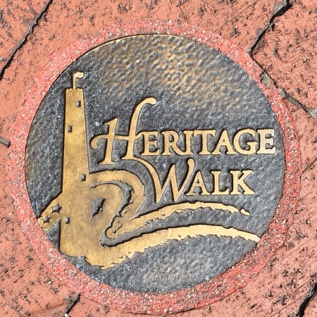 Baltimore National Heritage Area: Follow the sidewalk posts!