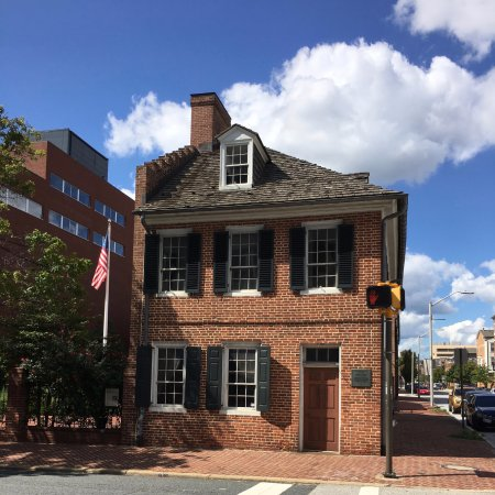 Baltimore National Heritage Area: The Flag House where the Star Spangled Banner flag was commissioned - made at a nearby brewery.