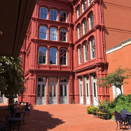 Baltimore National Heritage Area: One of the many many cast iron buildings built right here in Charm City.