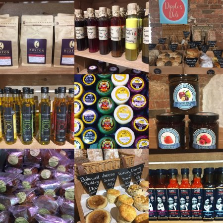 Dipple's Deli sells Artisan produce from Derbyshire & surrounding counties.