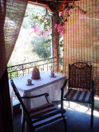 Αγία Κυριακή, Ελλάδα: Enjoy your breakfast in the balcony!!