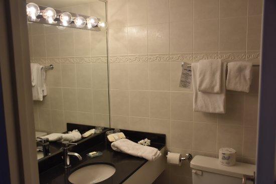 Century Plaza Hotel & Spa: Baño de la habitación. En perfecto estado de limpieza.