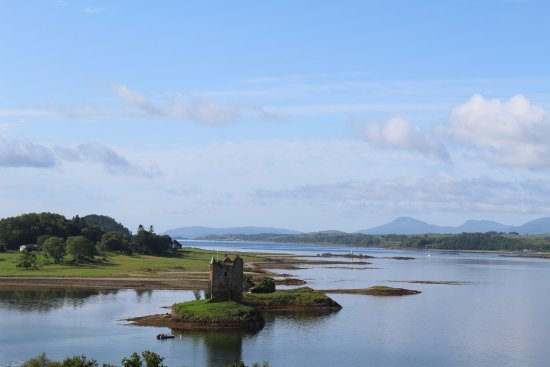 Appin, UK : chateau Stalker