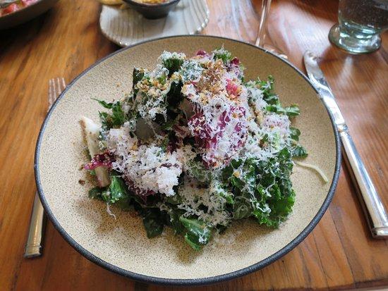 North Garden, VA: Kale salad