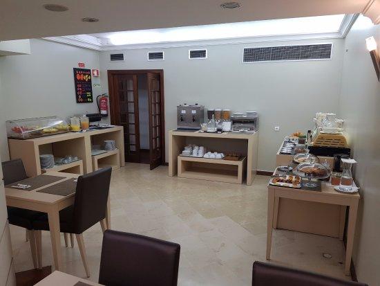 Torres Novas Hotel: Breakfast buffet